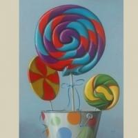 Lollipops by George Gonzalez