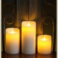 Luminara Candles (Set of 3)